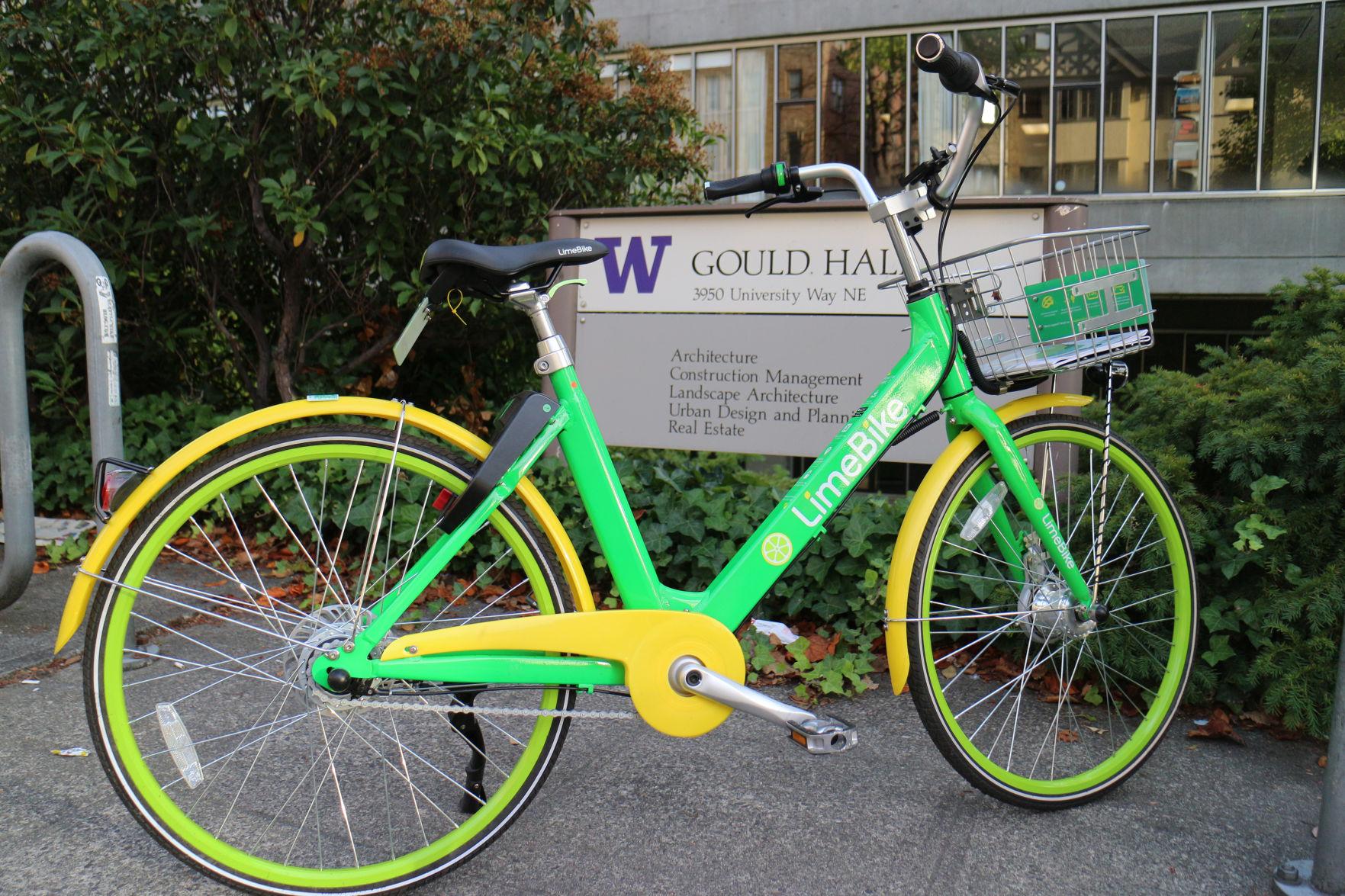 The Limebike is a bikesharing company based