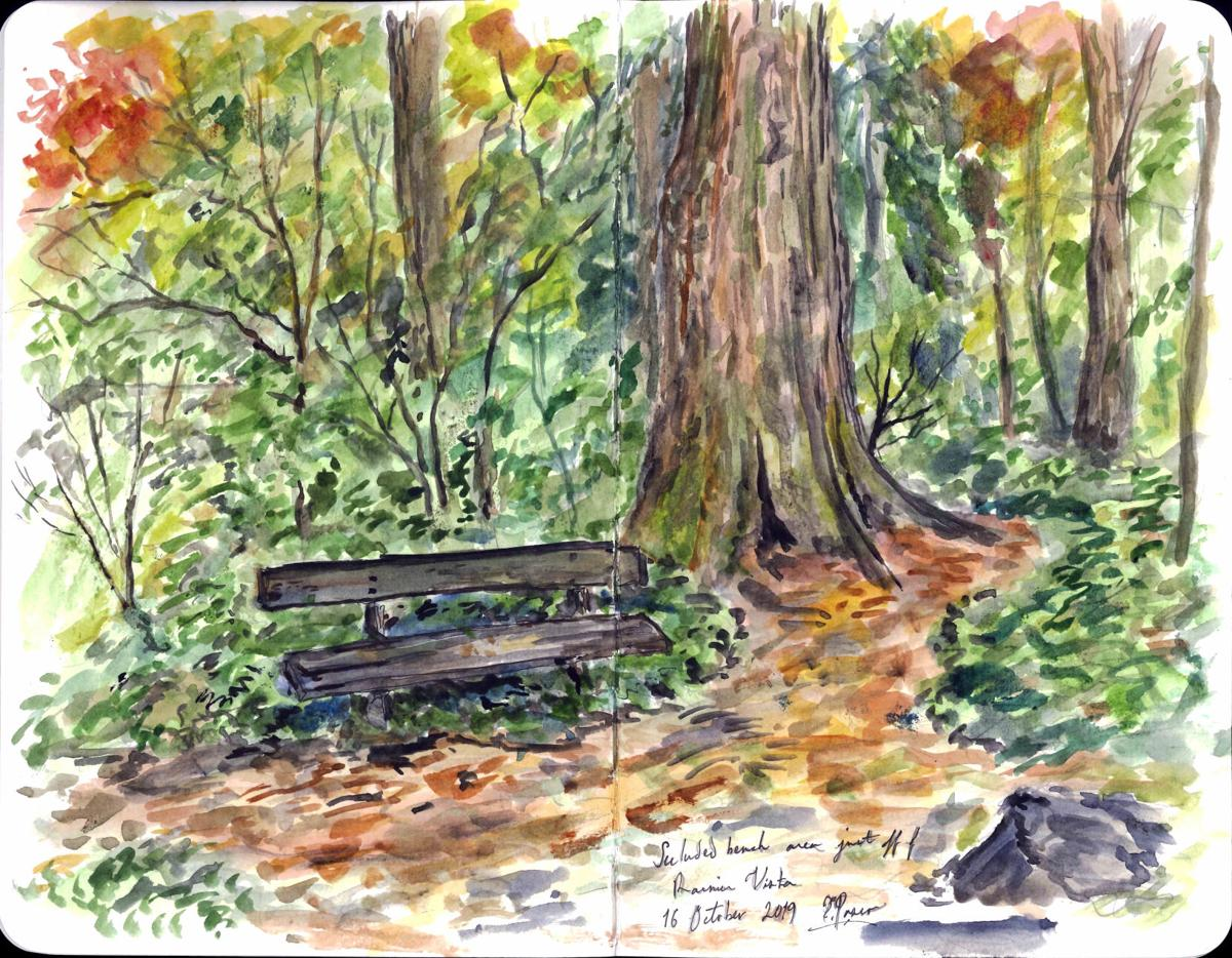 Secluded Bench