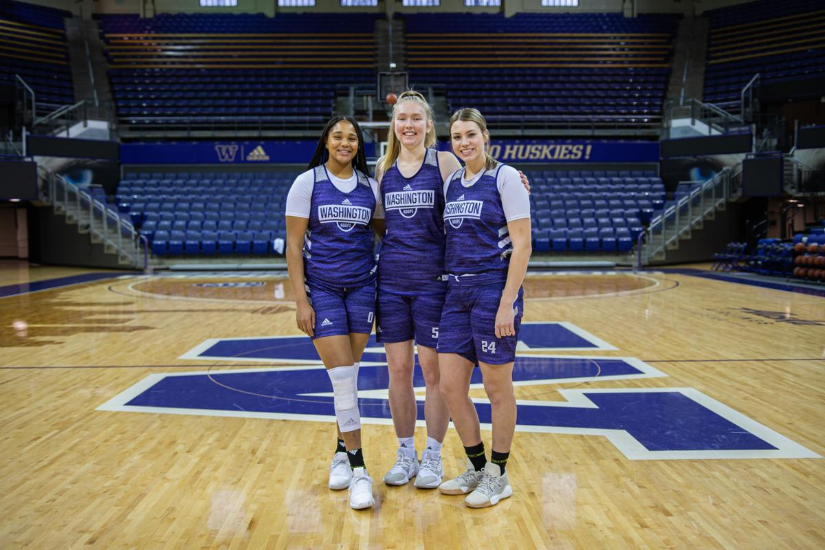 Centered on youth: The three underclassmen responsible for holding down the paint for the Huskies