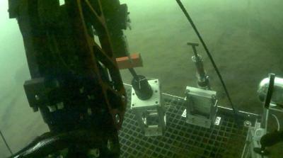 BluHaptics' underwater robot apparatus