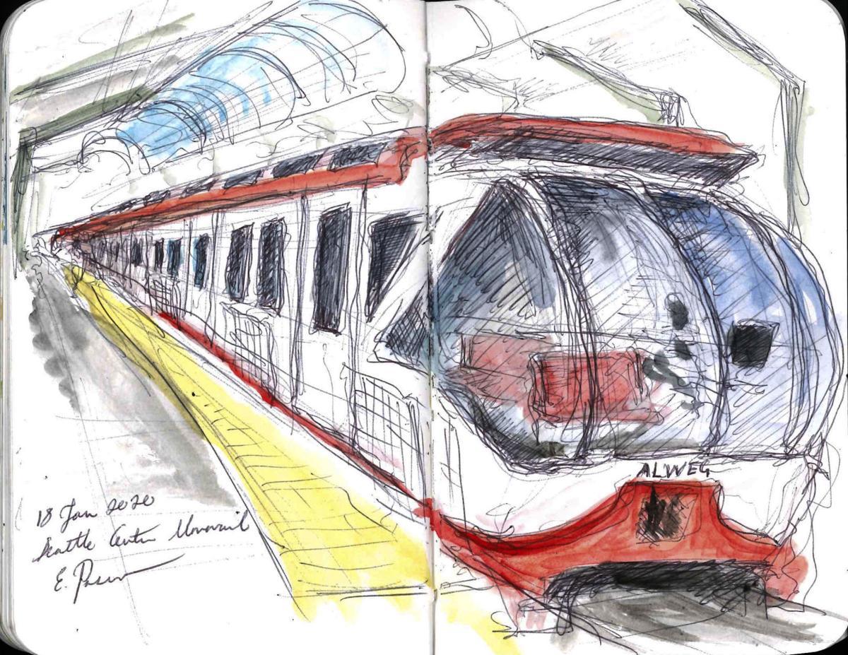 monorail exterior