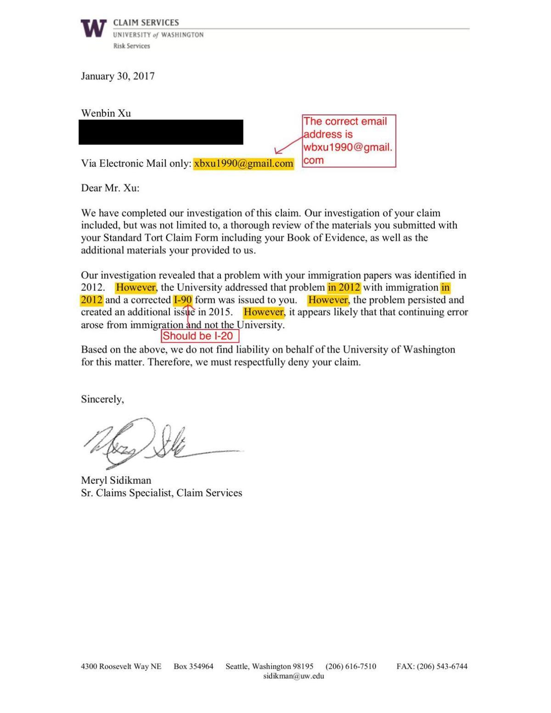 claim services denial letter.pdf | | dailyuw.com