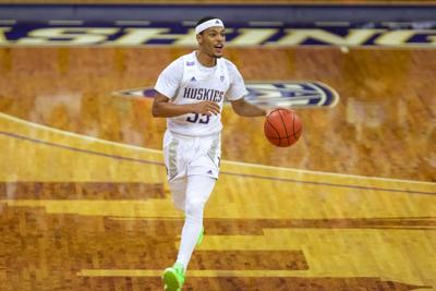 'We got our last win in this uniform': Green propels Huskies to senior night win