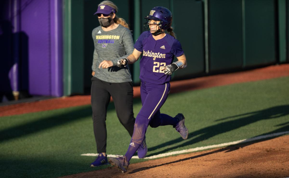 Bat, glove, and speed of Sis Bates carries Washington to series victory over Oregon