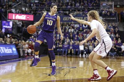 Return of the GOAT: Kelsey Plum makes broadcast debut as Dawgs take on Arizona State