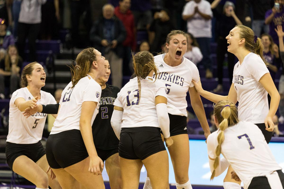 'A switch turned on': Huskies emotional after five-set victory over Utah