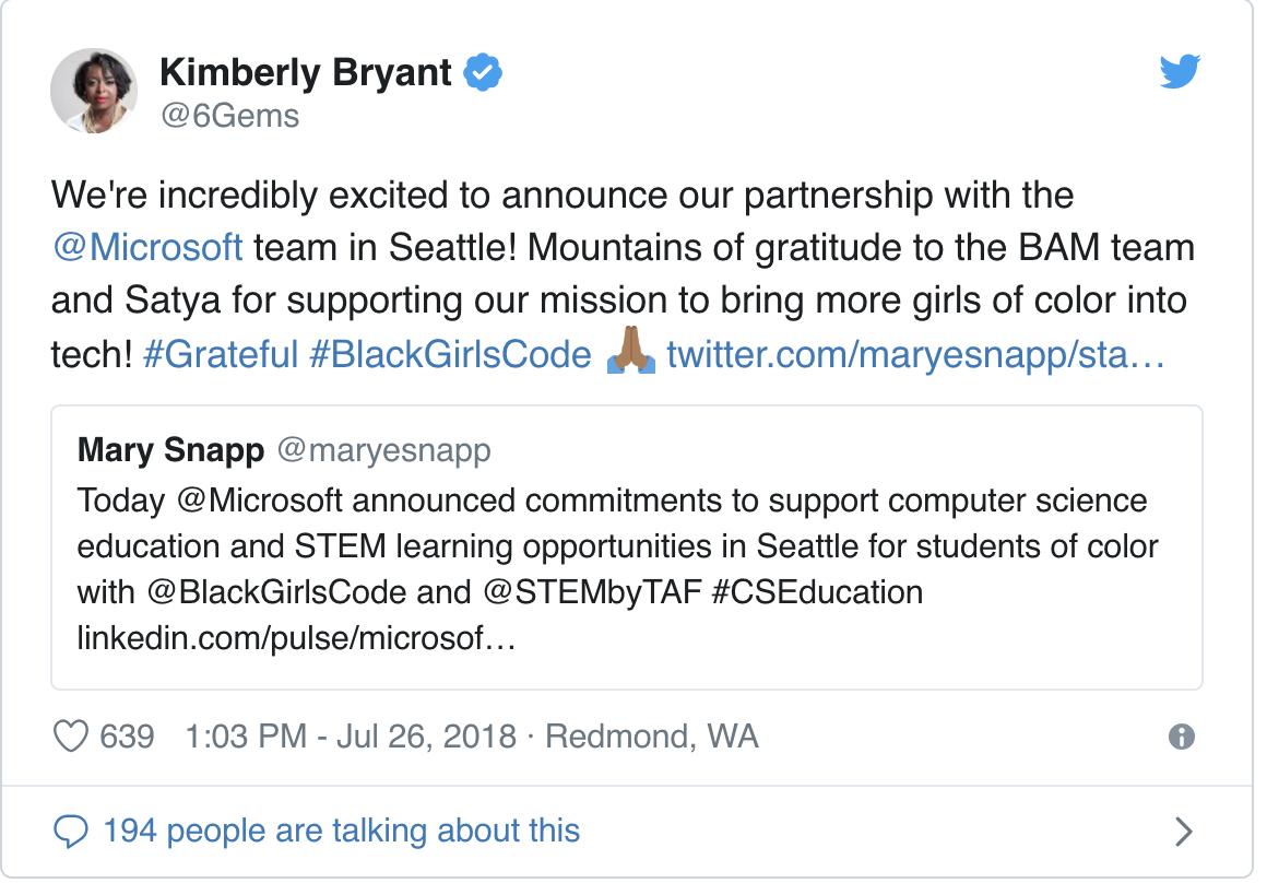 Bryant Tweet