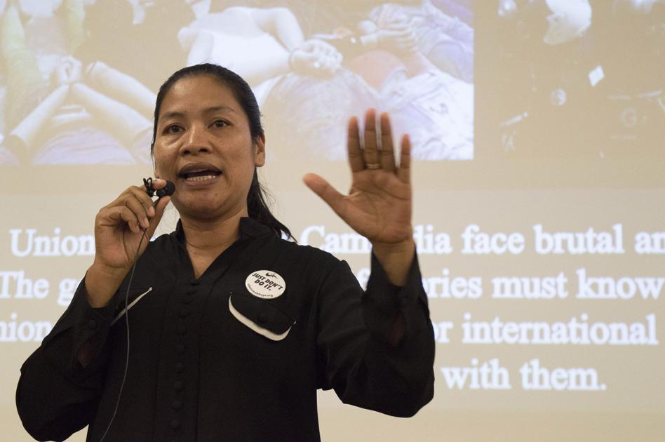 Just Dont Do It Former Nike Garment Worker Speaks Out Against