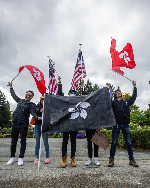 close flags