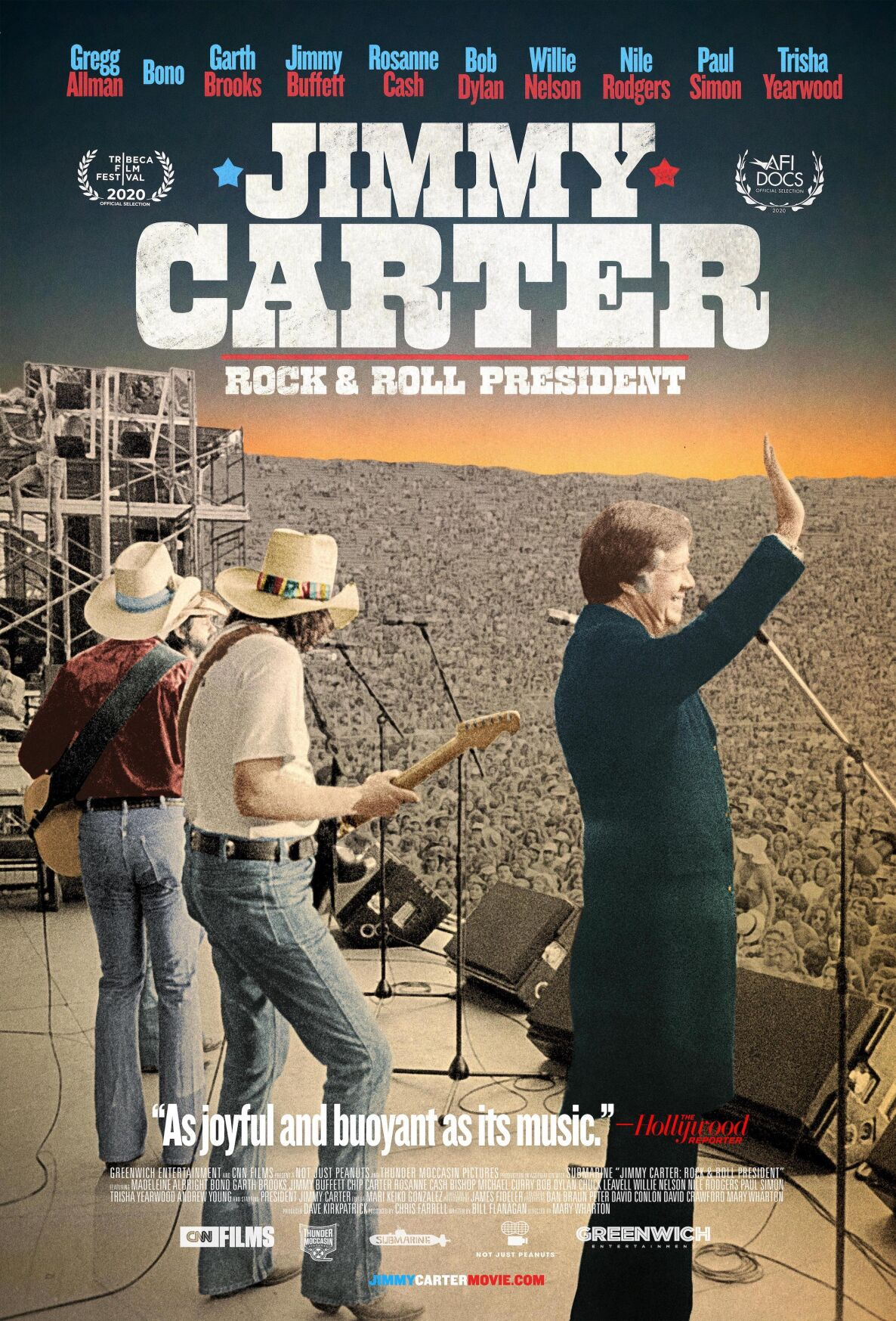 Poster for Jim Carter Rockumentary