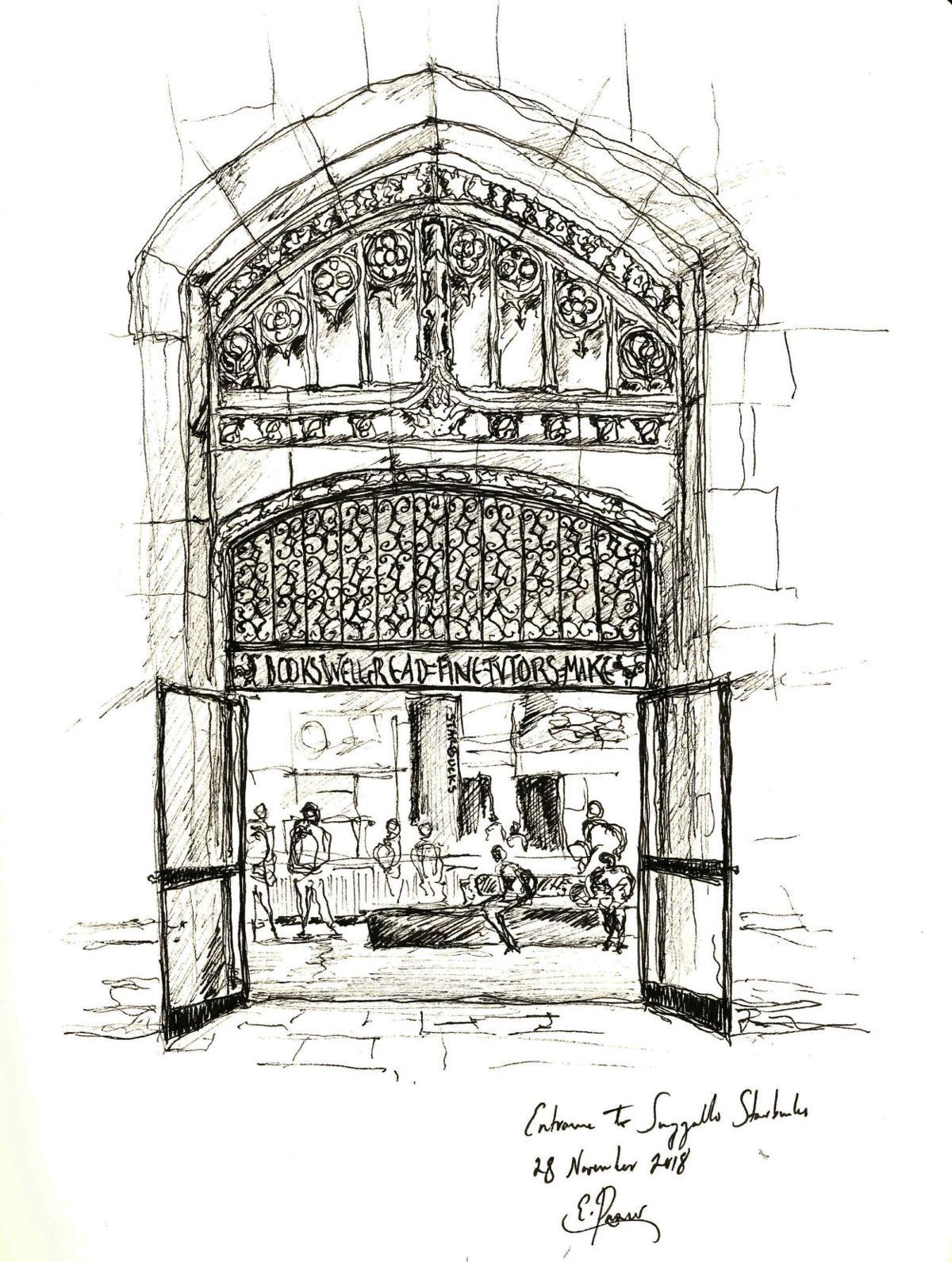 Suzzallo Starbucks Entrance