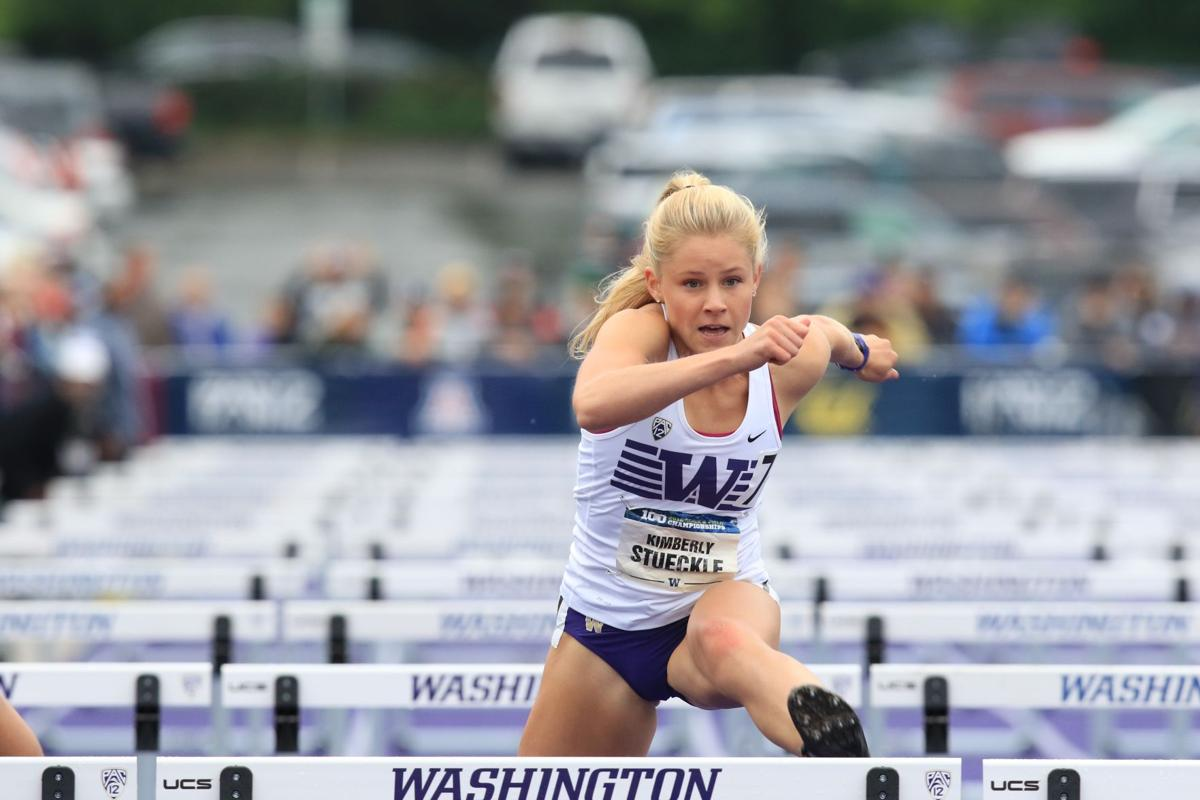 Karlee Stueckle leaps into Huskies' rotation