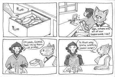 Tupperware trouble