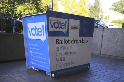 The new UW ballot box