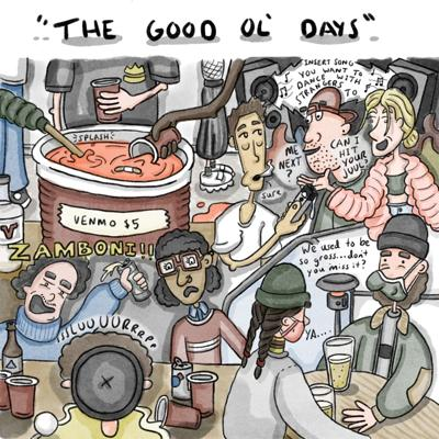 The good ol' days