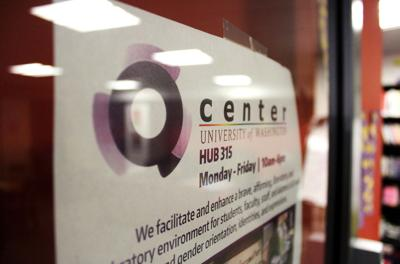The Q Center, located on the third floor of the Hub, provides a safe space for students of all sexual orientations to hang out and learn about the resources available to them in UW's LGBTQ community.