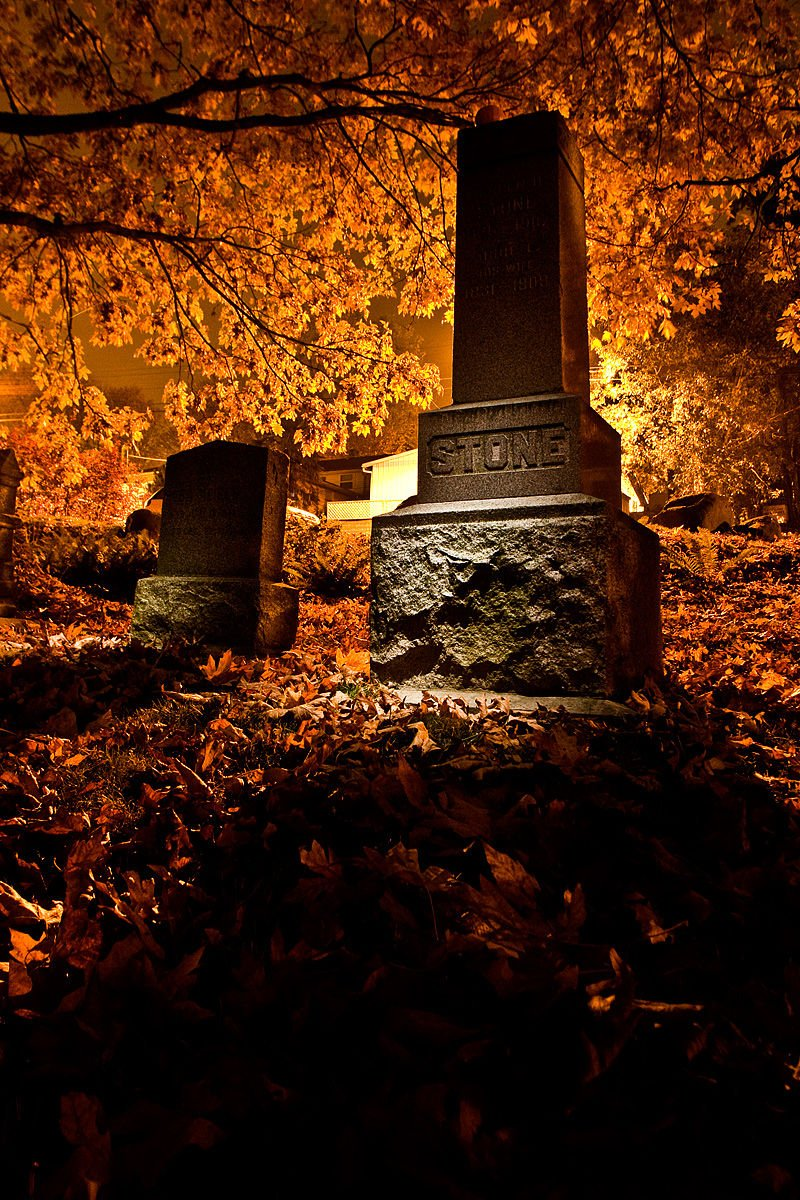 The Ghosts of Comet Lodge Cemetery