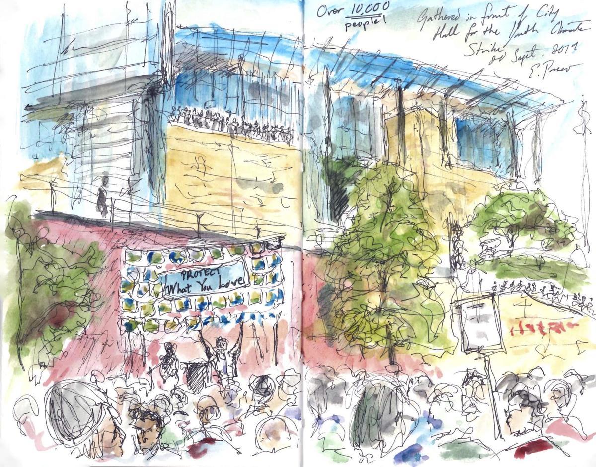 Campus sketch 2