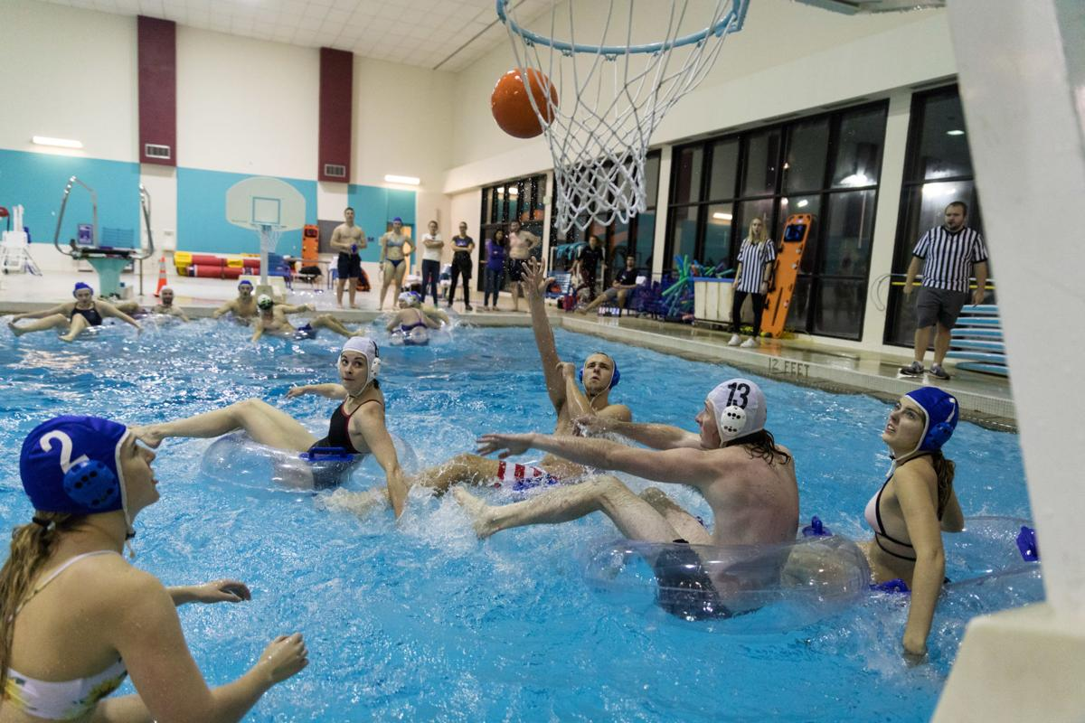 Ridiculous, spontaneous, and goofy: Intramural innertube basketball league serves as an escape for students