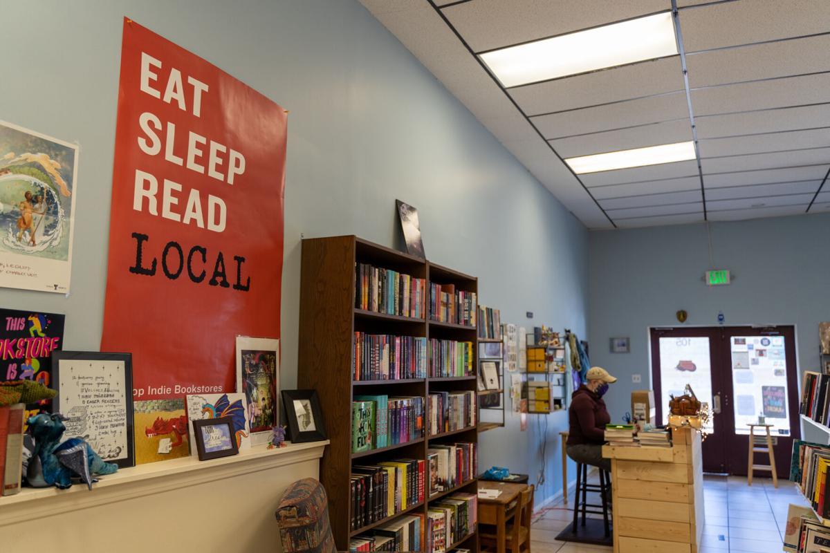 Never-ending Bookshop interior