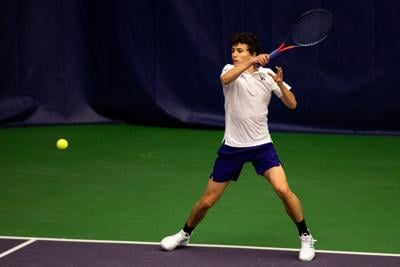 Chidekh remains undefeated but Huskies drop second straight match to Razorbacks