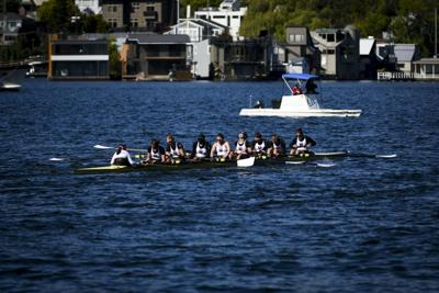 Washington women fall short in Cal Dual varsity eight, win other three races