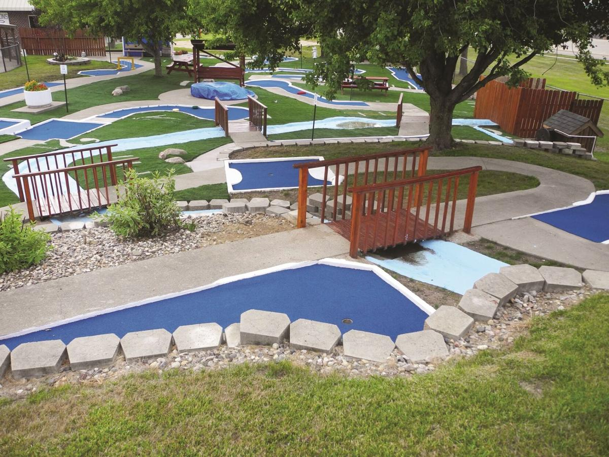 Mini golf course at Denison Aquatic Center