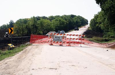 U.S. Highway 59 closed about three miles south of Denison