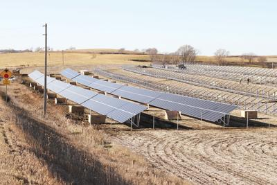 WIPCO solar array on Donna Reed Road