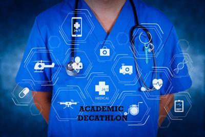Academic Decathlon graphic