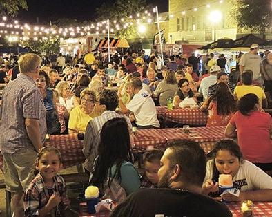 Tri City BBQ Fest packs uptown Denison