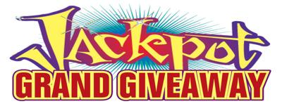 Jackpot Grand Giveaway Logo