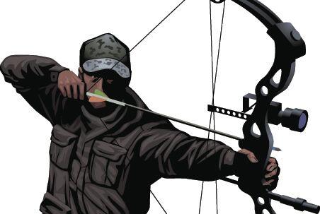 DBR bow hunter