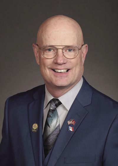 Rep. Steven Holt, D18, R-Denison