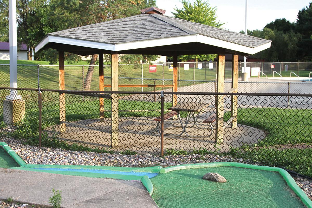 Miniature golf course at Denison Aquatic Center