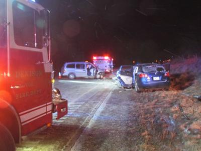 Crash south of Denison claims three lives | News | dbrnews com