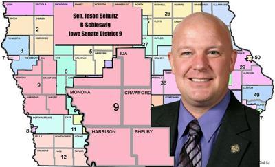 Sen. Jason Schultz, R-Schleswig, Iowa Senate District 9