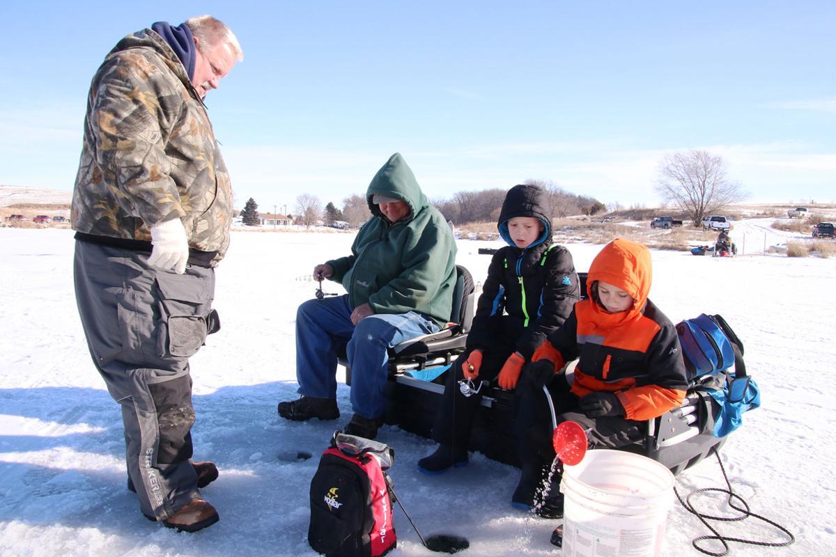 On ice with the Ike's - Jon Saunders