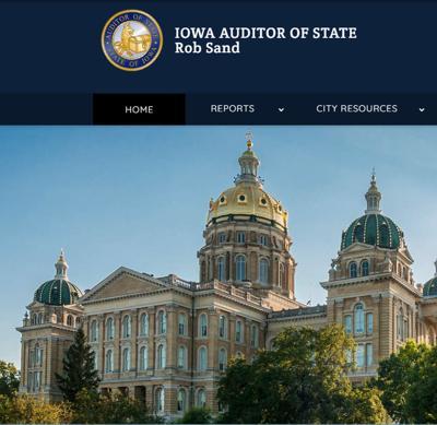 Iowa Auditor of State screenshot