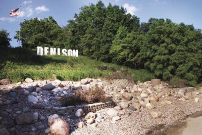 Denison hillside