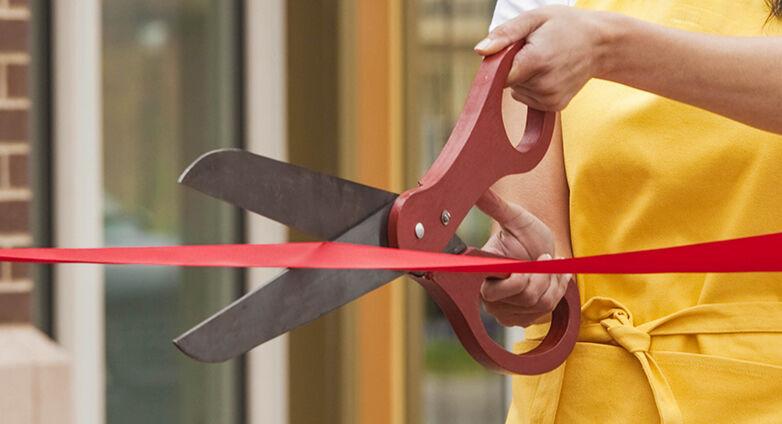 ribbon cutting graphic