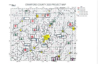 2020 county project map