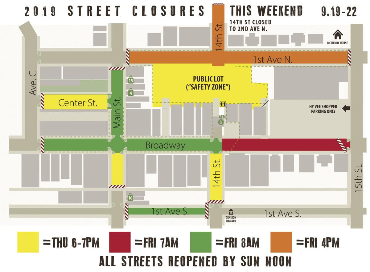 Street Closure Map