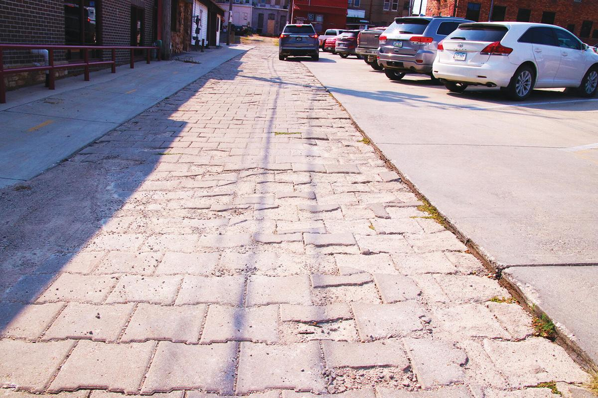 Pavers to be replaced