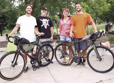 Ringgenberg twins stop in Denison on way from Seattle to Washington, D.C.