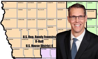 U.S. House District 4, Rep. Randy Feenstra, R-Hull