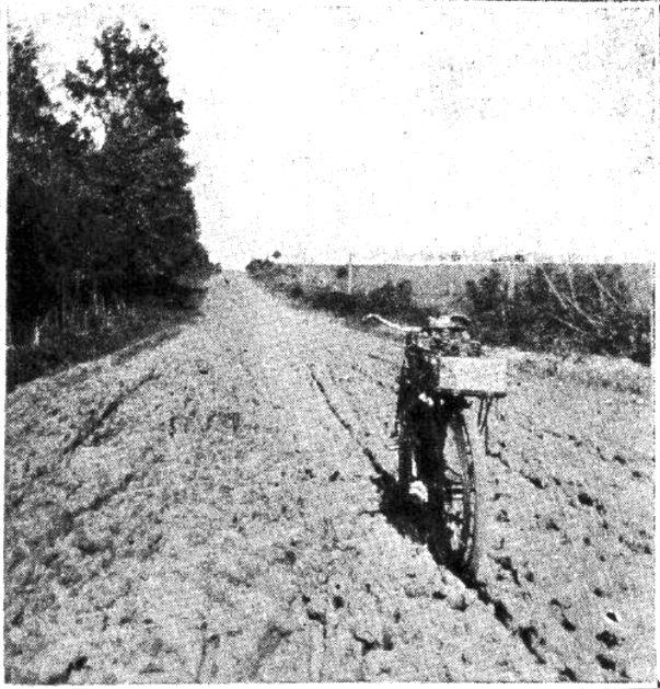 Bike in the mud