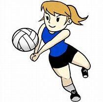 BV girls vs. G-R volleyball