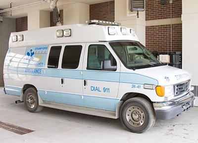 Ambulance purchase complicated by Adams Motors problems