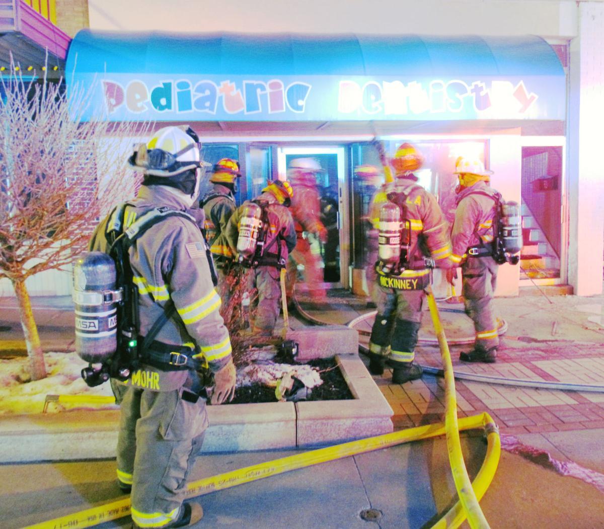Fire at Pediatric Dentistry basement